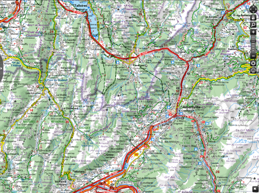 Chevaline Map